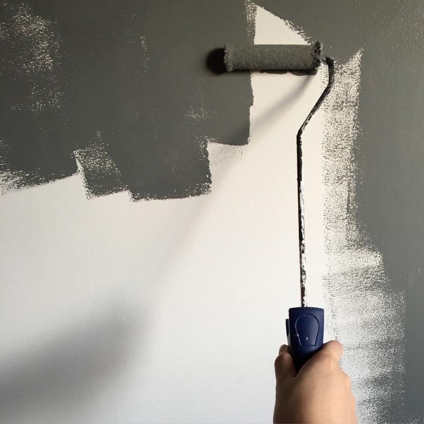 Stylowe i eleganckie szare ściany