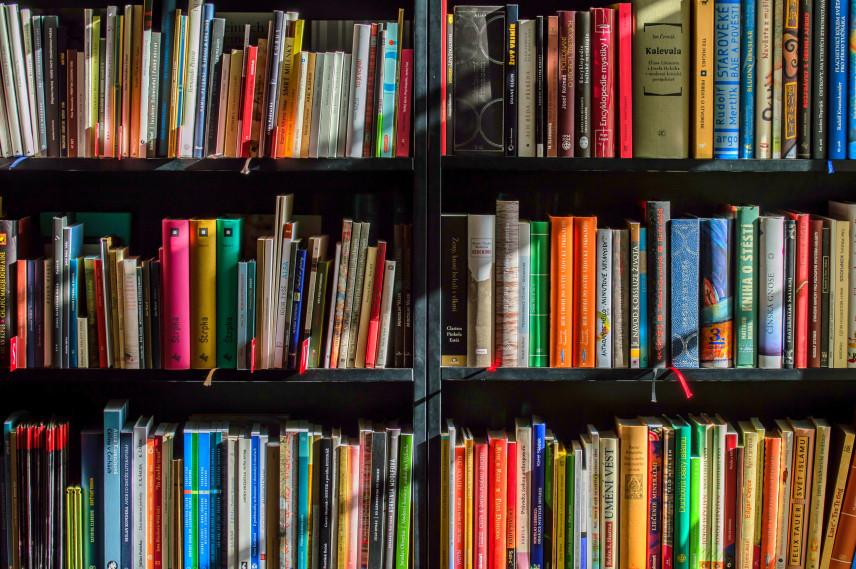 Unikalne półki na książki