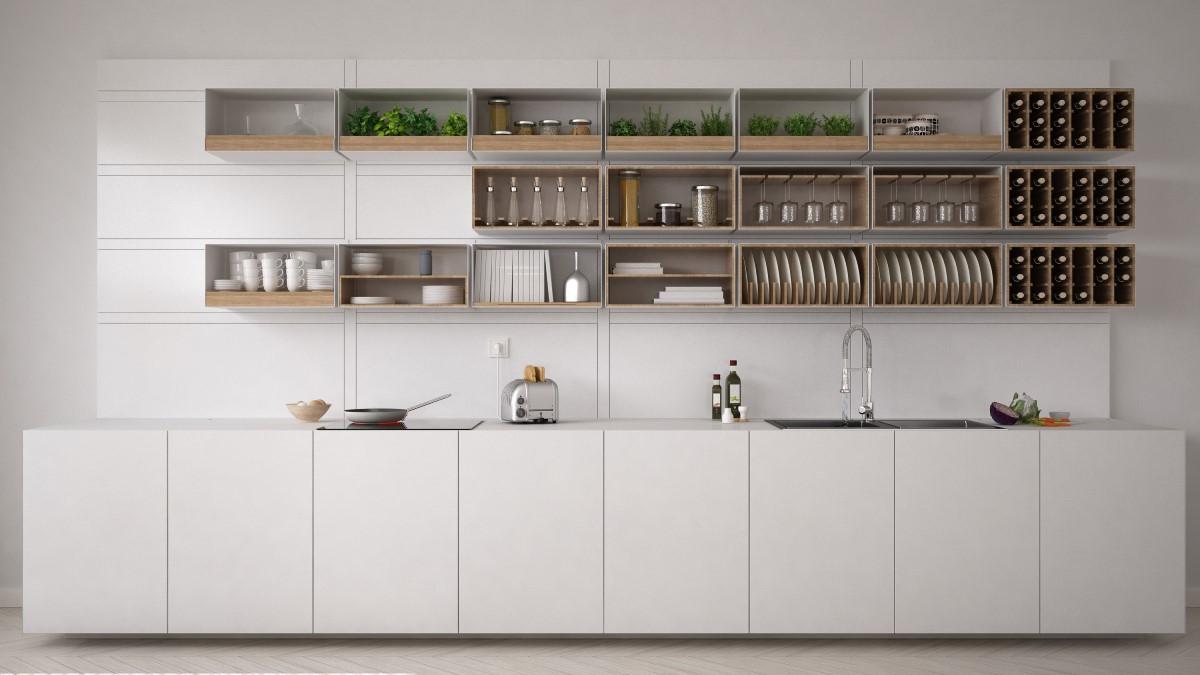Jak poukładać w szafkach kuchennych?