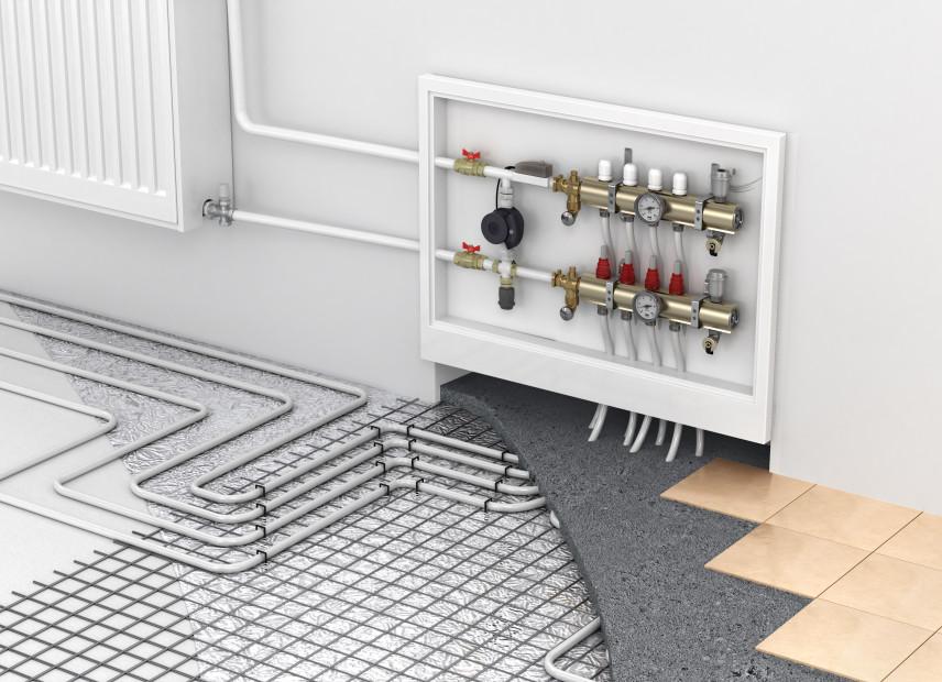 Odpowietrzanie ogrzewania podłogowego krok po kroku