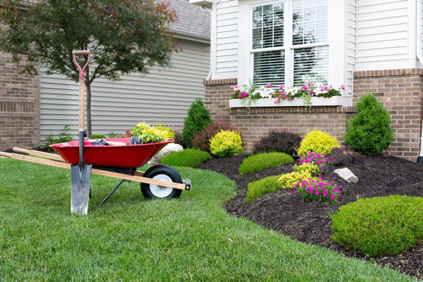 Jak urządzić, zrobić ogród przed domem aby zachwycał i był praktyczny?