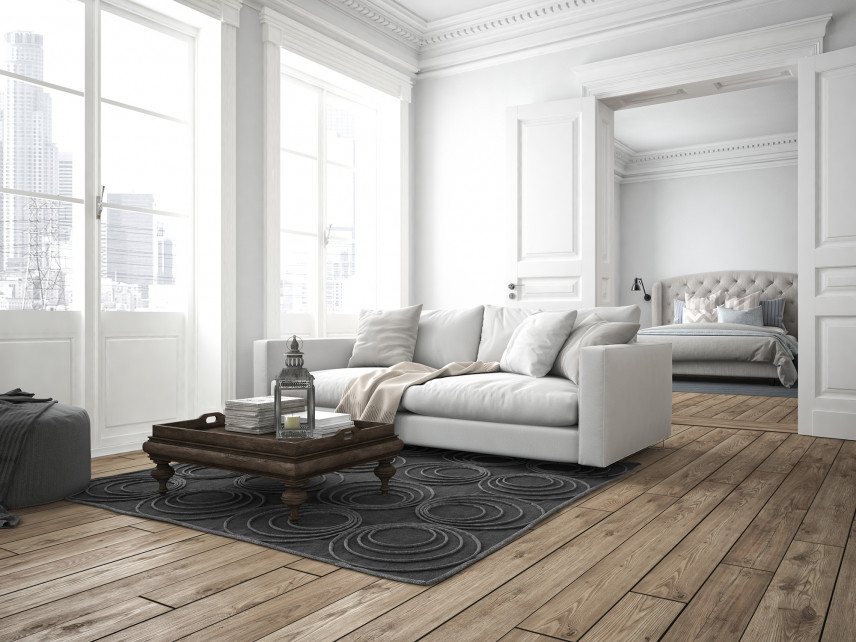 Jaki kolor dywanu do szarej kanapy - wykańczamy wnętrze