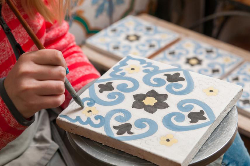 Malowanie ceramicznych płytek łazienkowych, kuchennych, ściennych, podłogowych