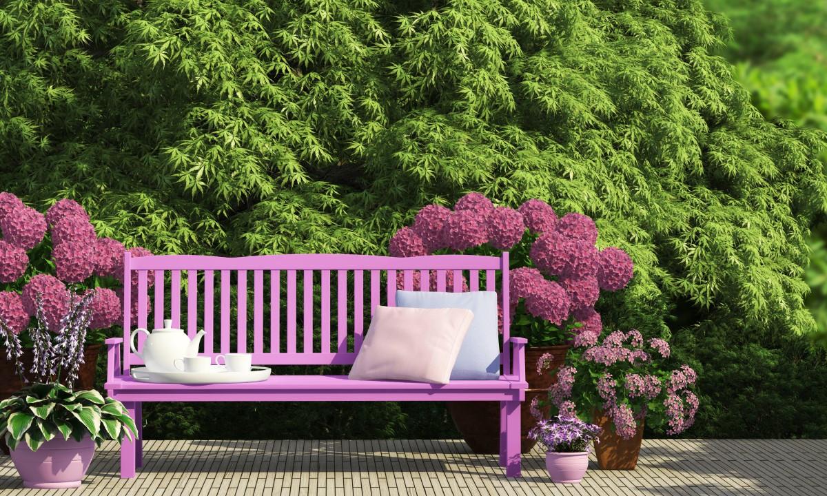 Jak zrobić ławkę ogrodową bez oparcia?