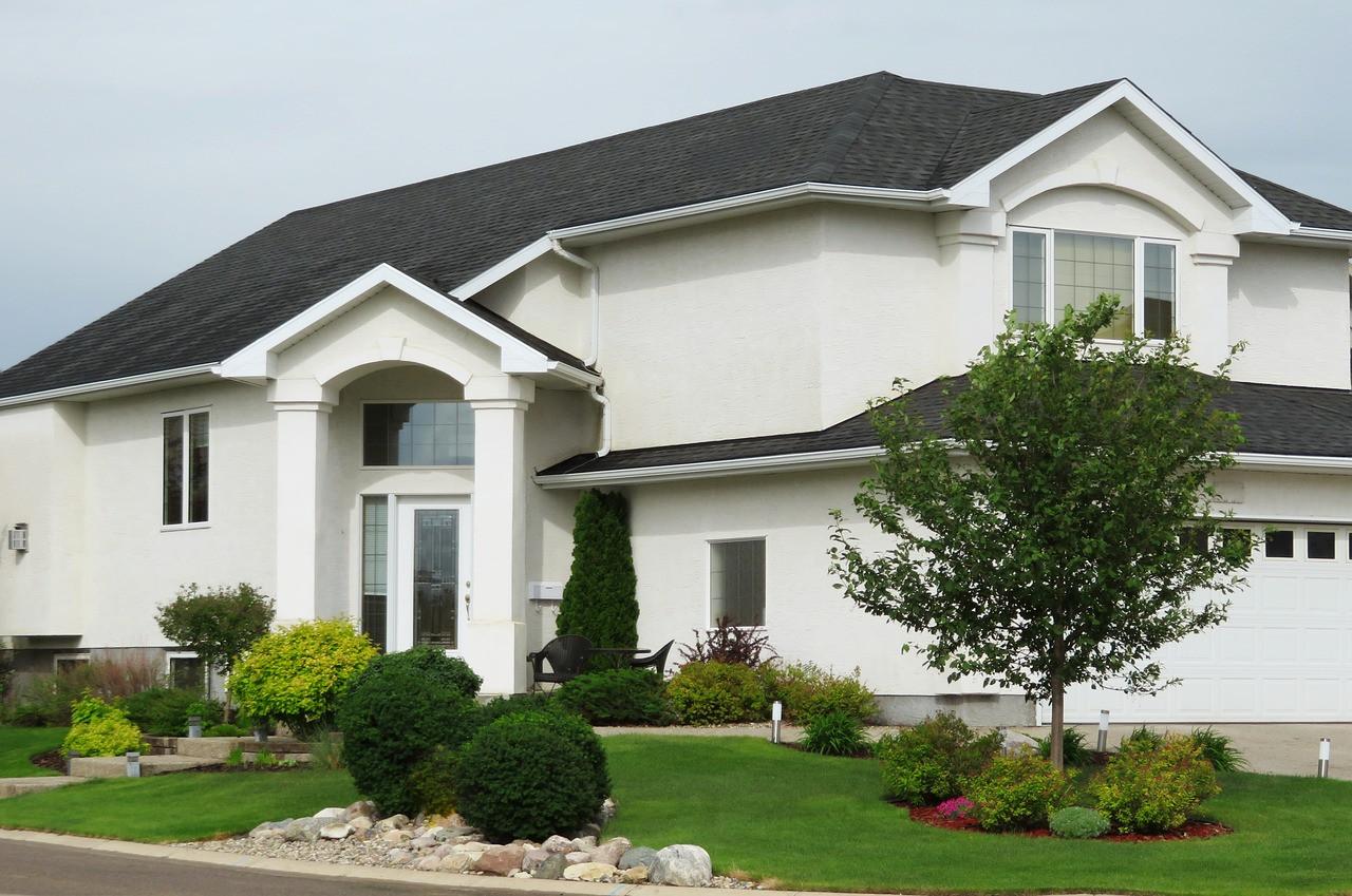 Jaki kolor elewacji do grafitowego dachu?