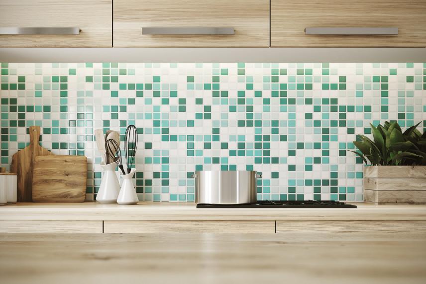 Zielona mozaika