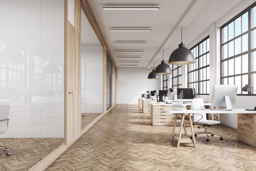 Stylowe biuro w stylu skandynawski