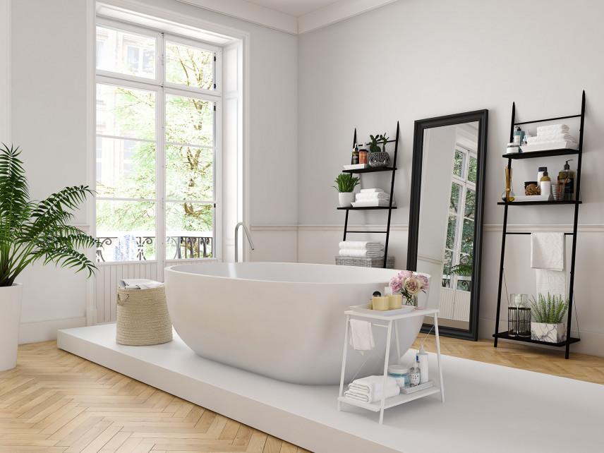 Nowoczesna łazienka w stylu skandynawskim
