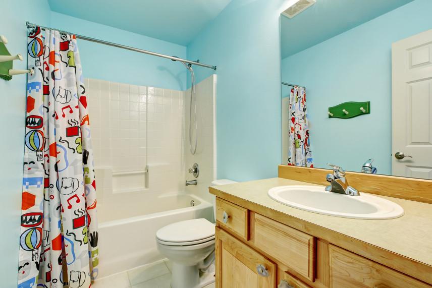 Seledynowa łazienka
