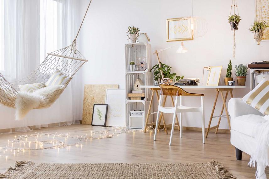 Małe biuro w domu