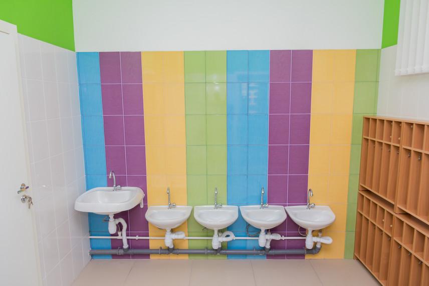 Kolorowa łazienka dla dziecka
