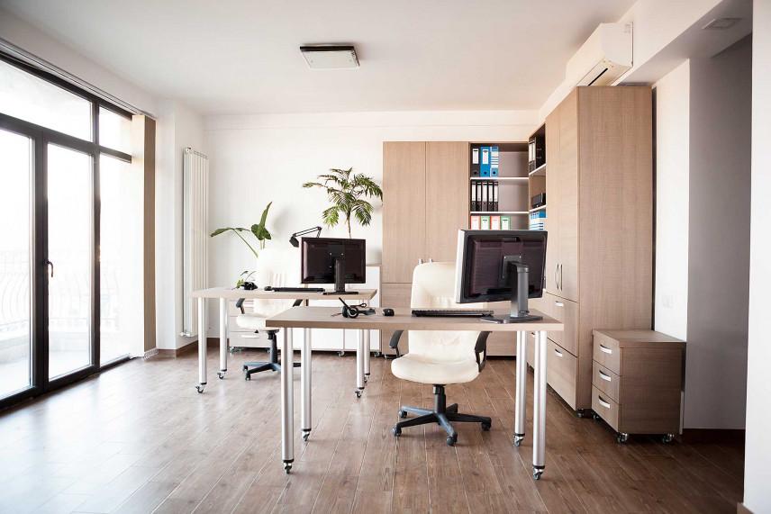 Nowoczesne biuro w stylu skandynawskim