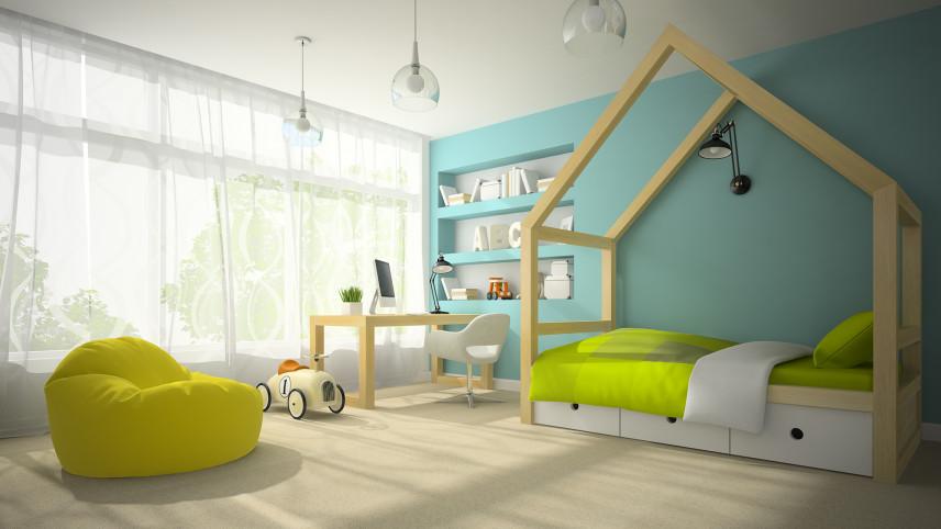Duży pokój dziecięcy