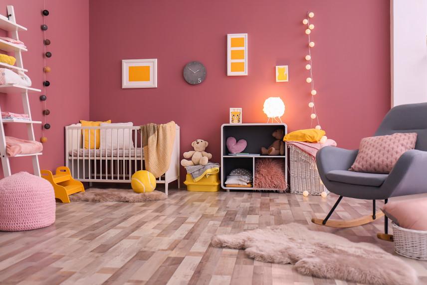 Różowy pokój dla dziewczynki