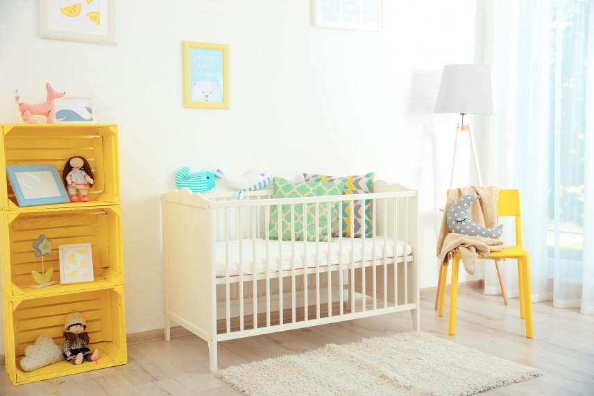 Aranżacja pokoju dla noworodka