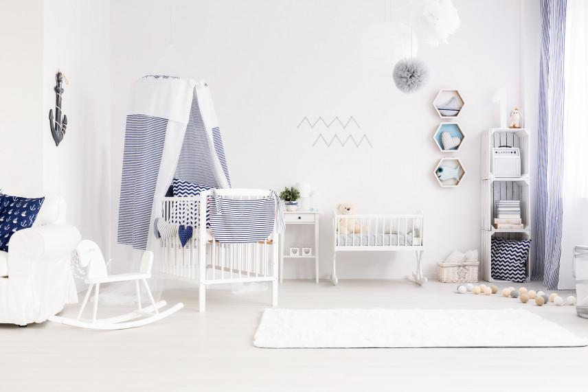 Pokój dla noworodka w domu