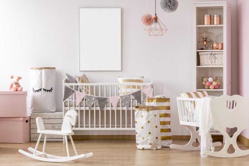 Cukierkowy pokój dla noworodka