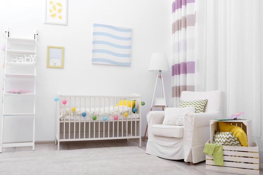 Aranżacja małego pokoju dla noworodka