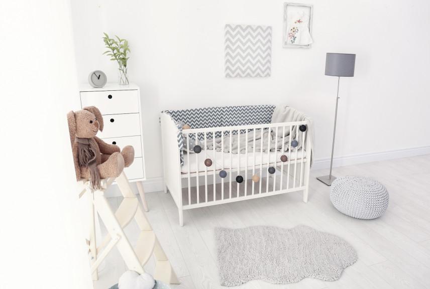 Projekt małego pokoju dla noworodka