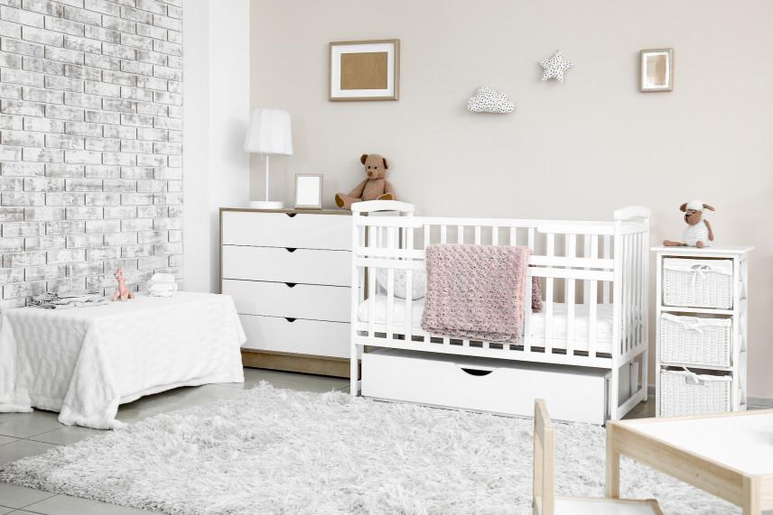 Pokój dla noworodka w stylu angielskim