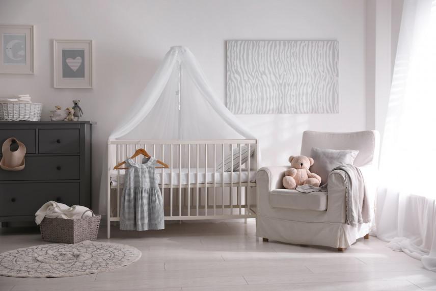 Przytulny pokój dla noworodka