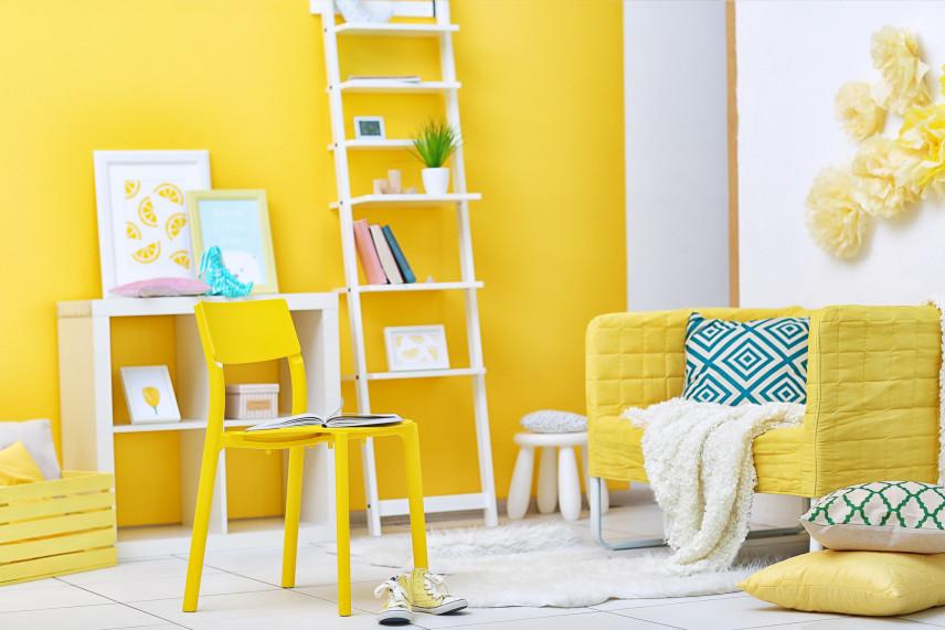 Projekt żółtego pokoju