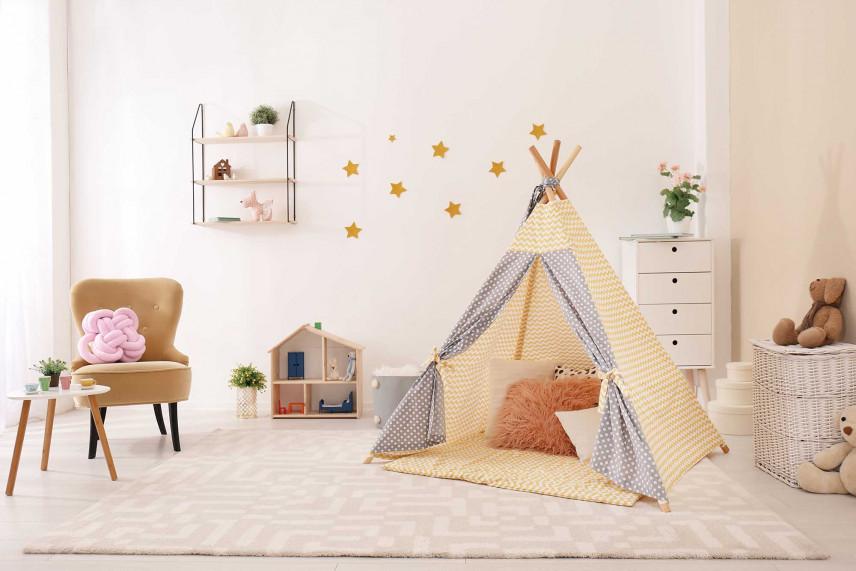 Pokój z namiotem  tipi