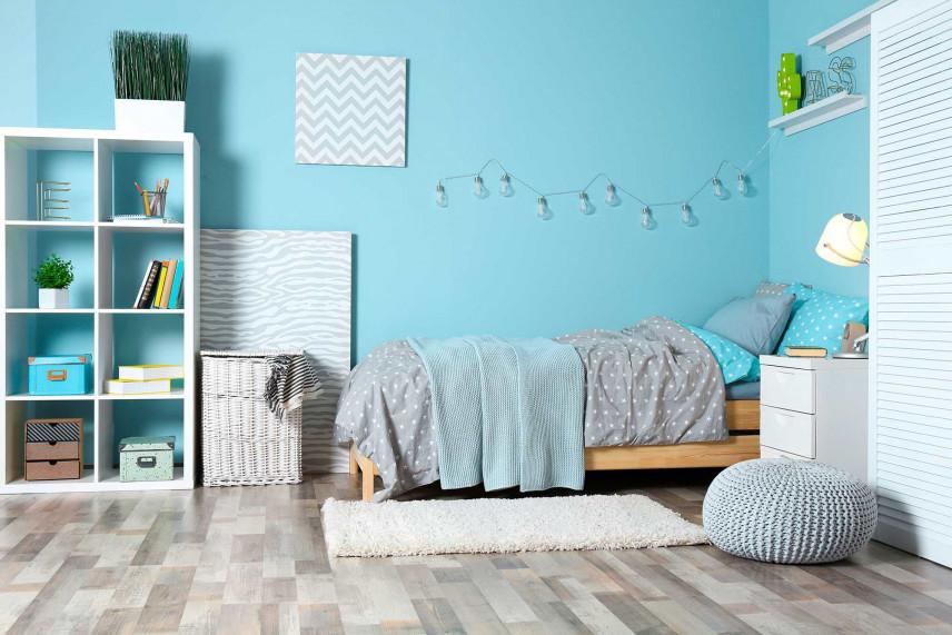Niebieski pokój