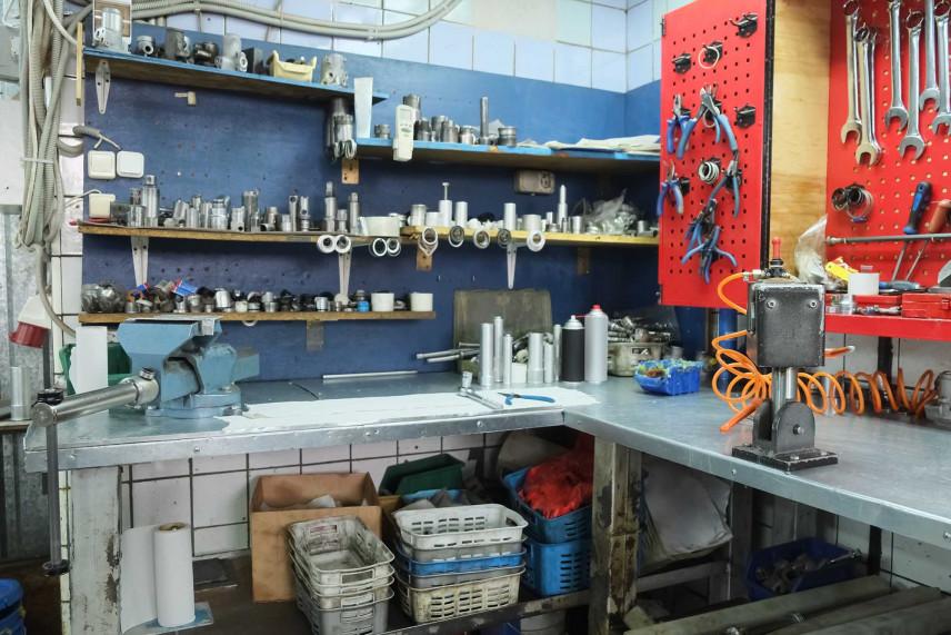 Garaż mechanika samochodowego