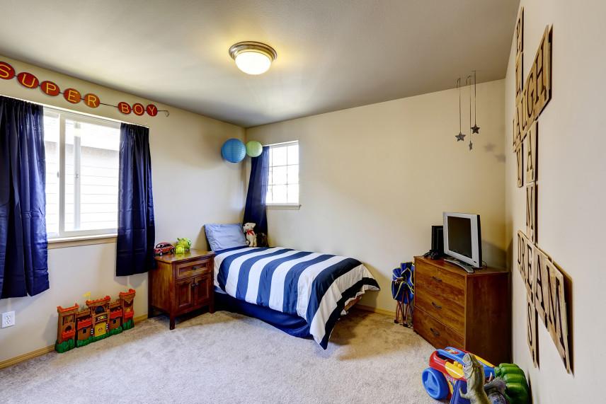 Wykładzina w pokoju dziecięcym