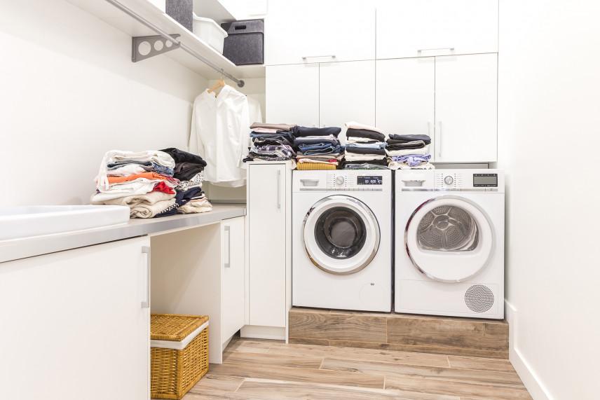 Nowocześnie urządzona pralnia