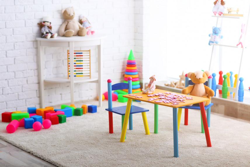 Kolorowy stolik