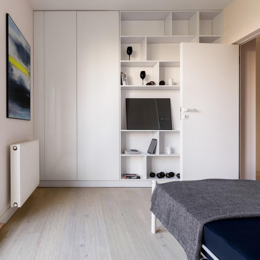 Garderoba w pokoju dziennym
