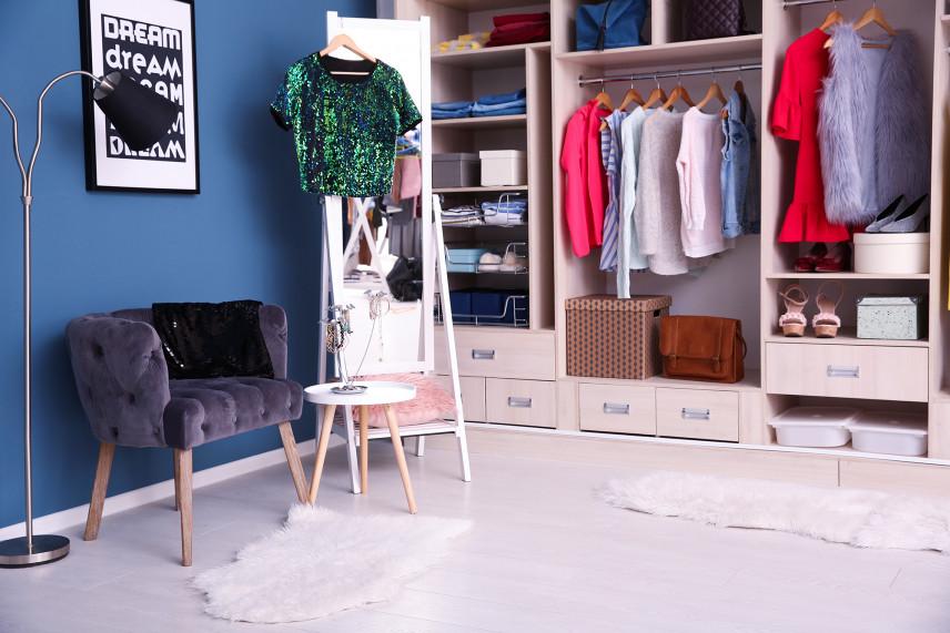 Otwarta garderoba