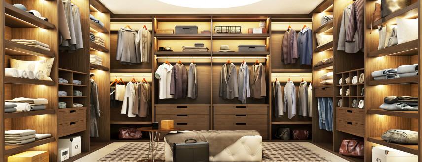 Garderoba w stylu Art Deco