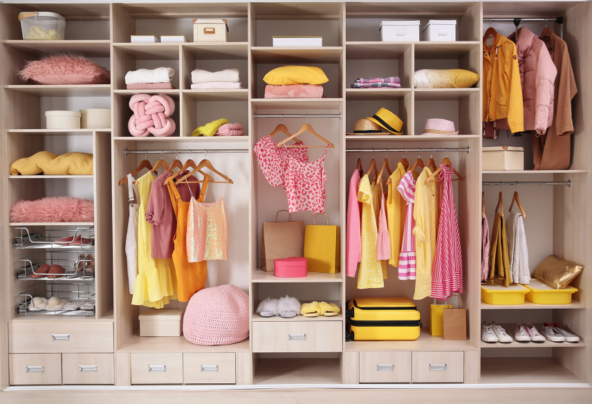Garderoba dla kobiety