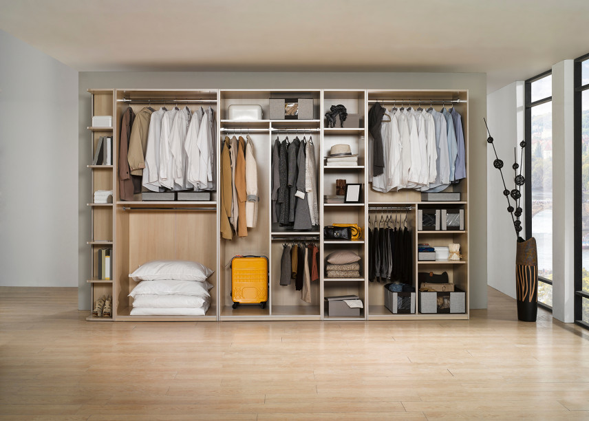 Garderoba w salonie
