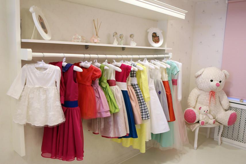 Garderoba dla dziewczynki