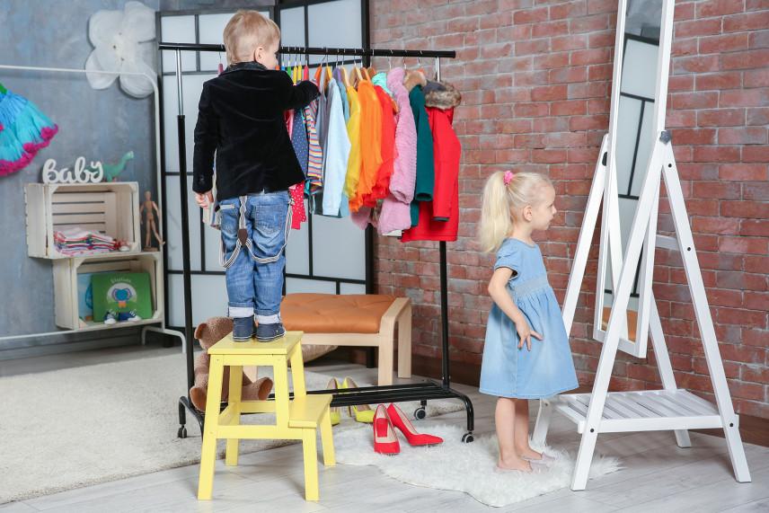 Garderoba dla dzieci