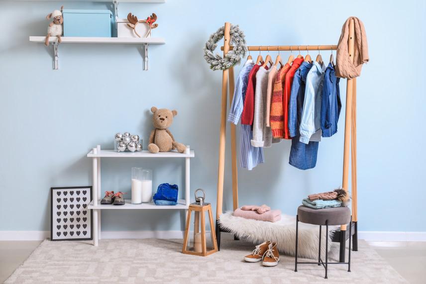 Garderoba dla chłopca
