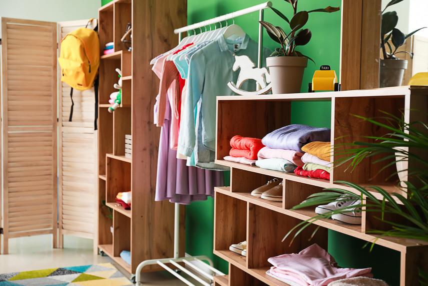 Garderoba na ścianie