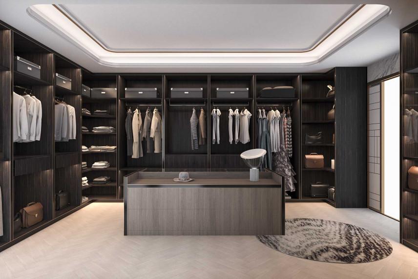 Garderoba w stylu męskim