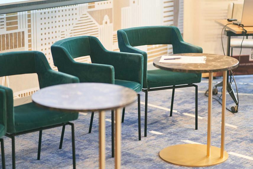 Zielone krzesła