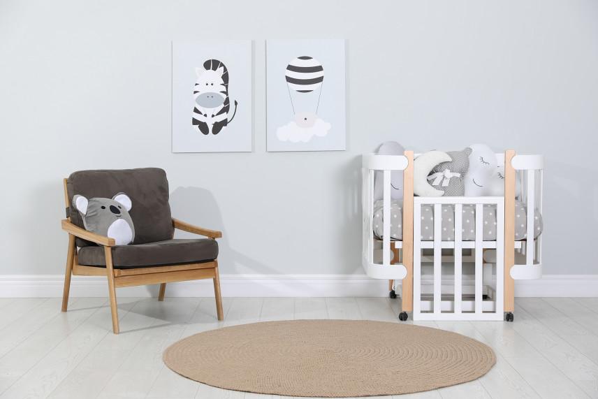 Pokój niemowlaka w stylu skandynawskim