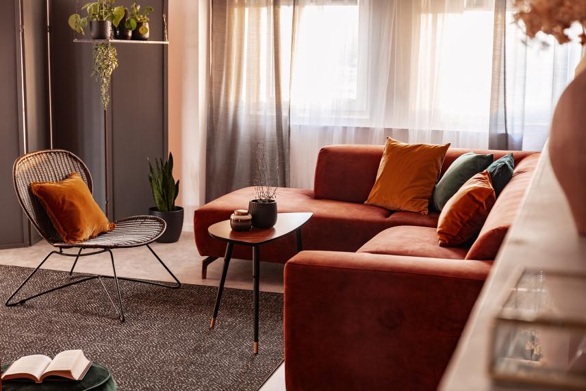 Aranżacja salonu w mieszkaniu