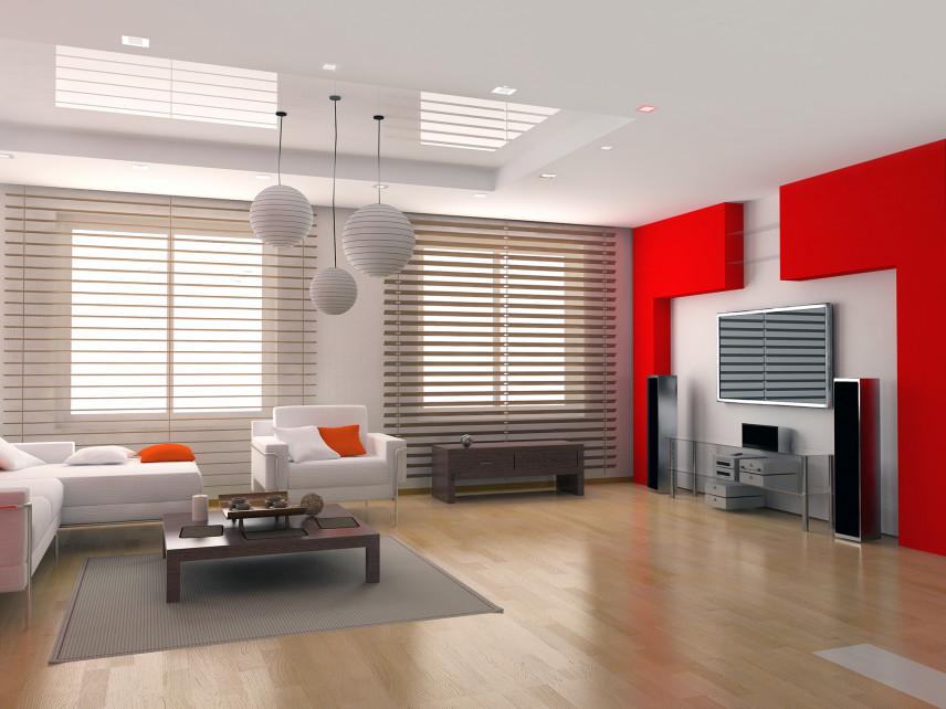 Czerwony salon
