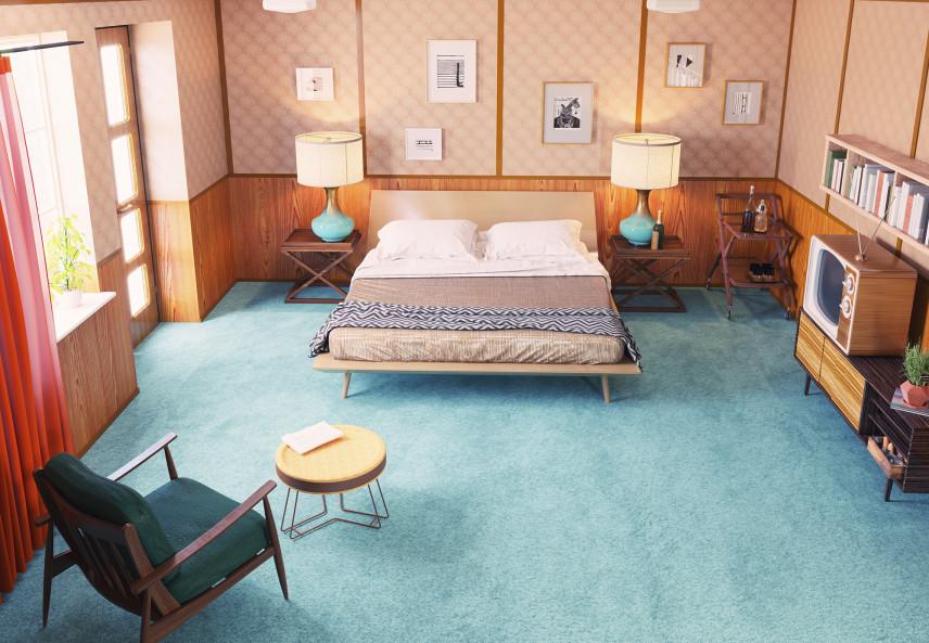 Sypialnia PRL