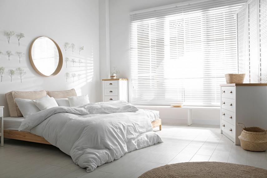 Skandynawska sypialnia