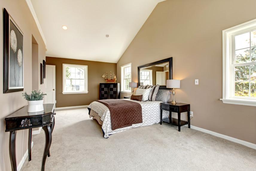 Sypialnia w stylu toskańskim