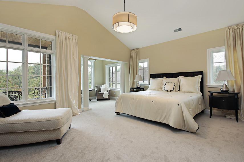 Sypialnia z tarasem
